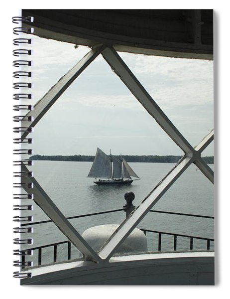 Home To Rockland Spiral Notebook