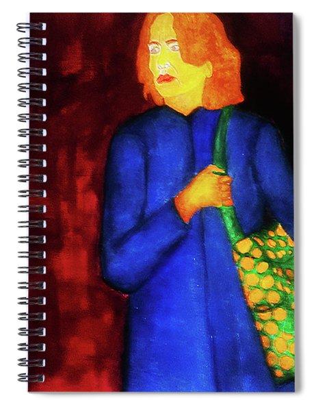 Homeless Girl Spiral Notebook
