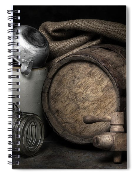 Homemade Whiskey Spiral Notebook