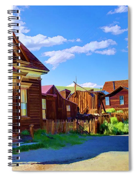 Homes Of The Past Spiral Notebook