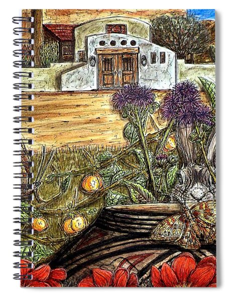 Homesteading Spiral Notebook
