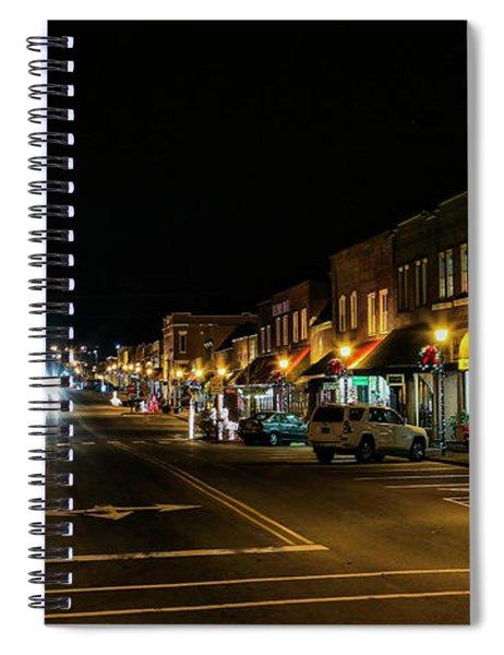 Hometown Christmas Spirit Spiral Notebook