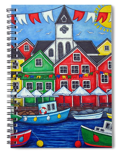 Hometown Festival Spiral Notebook