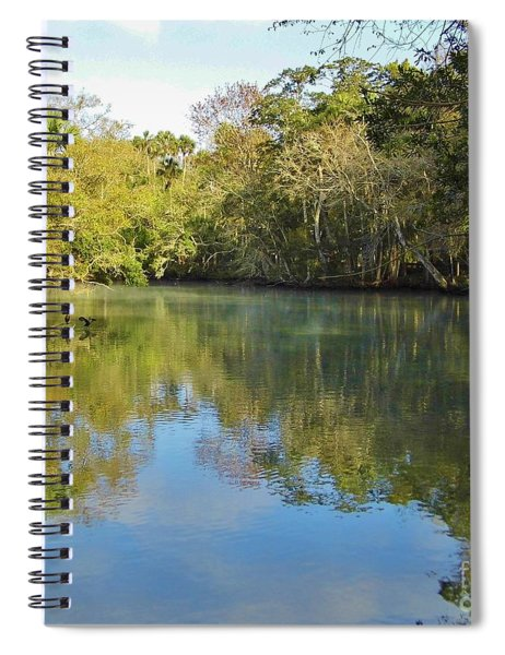 Homosassa River Spiral Notebook