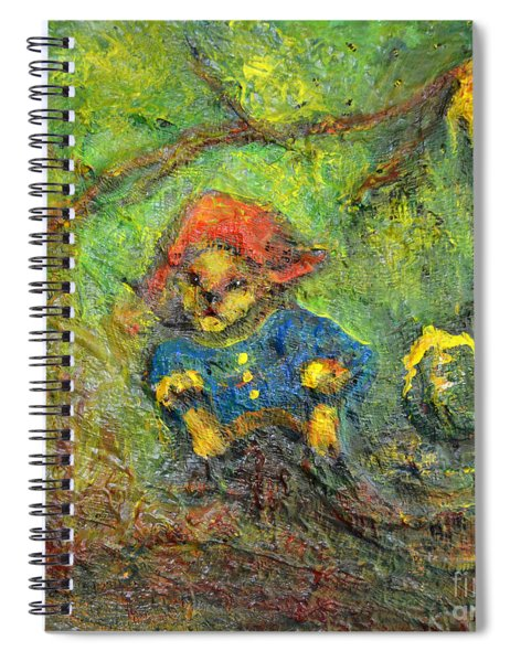 Honey Bear Spiral Notebook