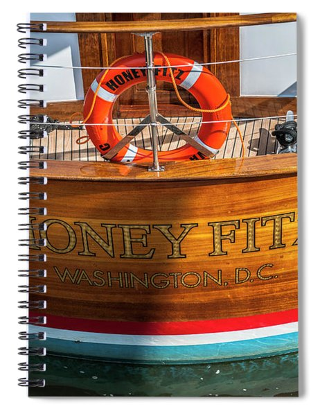 Honey Fitz Spiral Notebook