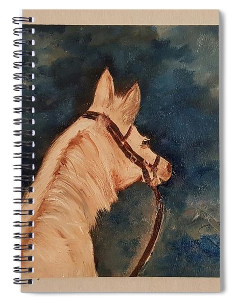 Honey Palomino Horse 28 Spiral Notebook