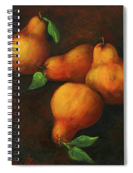 Honey Pears Spiral Notebook