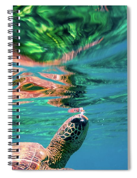 Hono Abstract Spiral Notebook