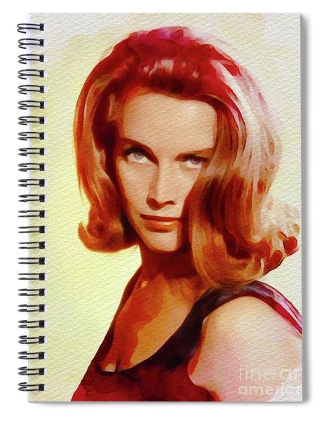 Honor Blackman, Movie Star Spiral Notebook
