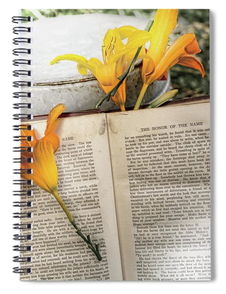 Honor Of Name Lily Spiral Notebook
