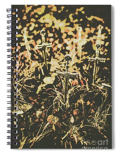 Honor Of The Fallen Spiral Notebook
