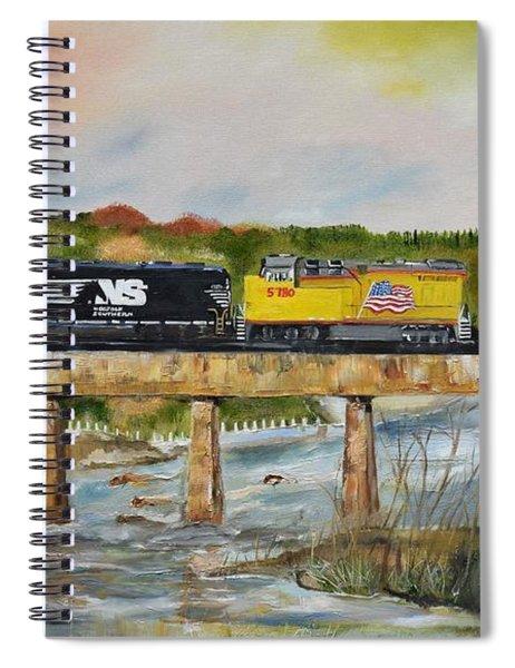 Hooch - Chattahoochee River - Columbus Ga Spiral Notebook