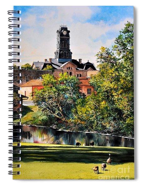 Hood County Summer Spiral Notebook