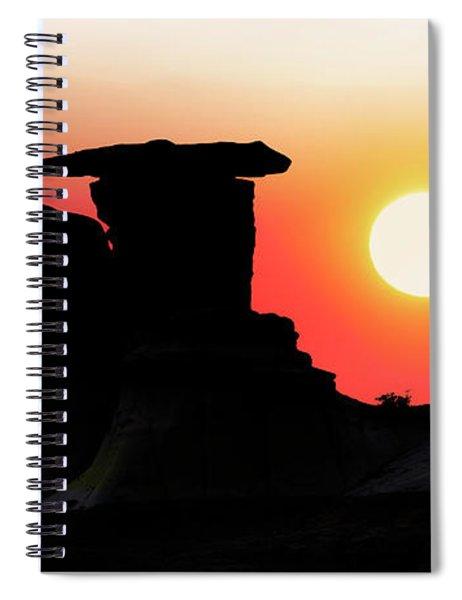 Hoodoo Sunrise Spiral Notebook