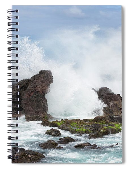 Hookipa Point Spiral Notebook