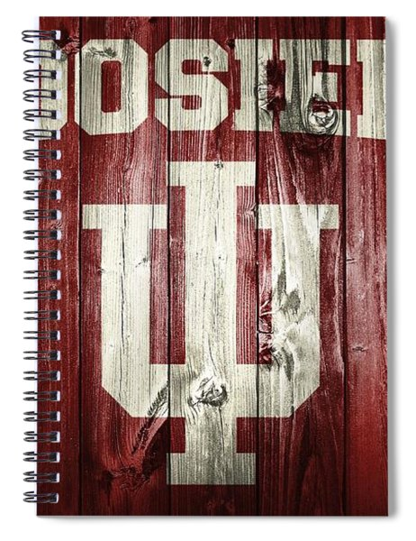 Hoosiers Barn Door Spiral Notebook
