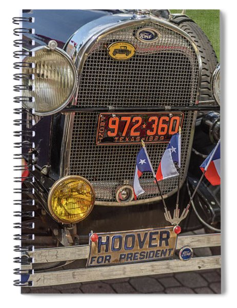 Hoover Era Ford Spiral Notebook