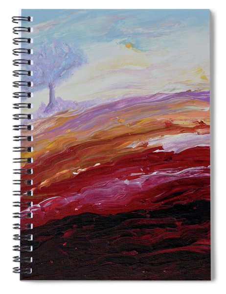 Hope Beyond The Lava Spiral Notebook
