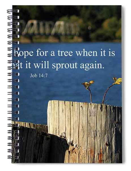 Hope For A Tree Spiral Notebook