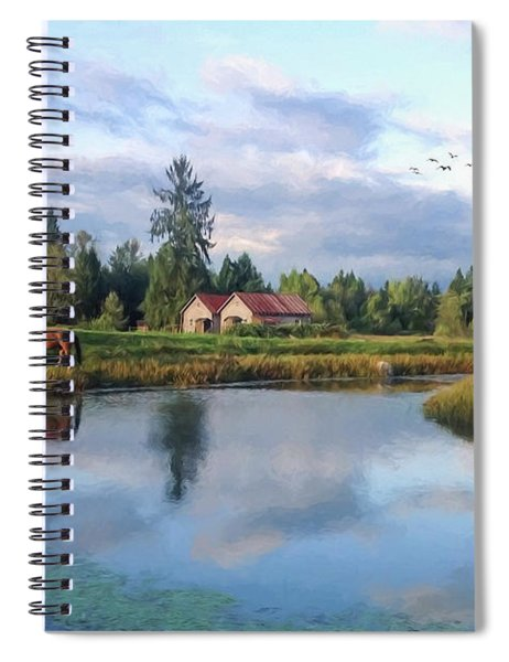 Hope Is Not A Dream - Hope Valley Art Spiral Notebook