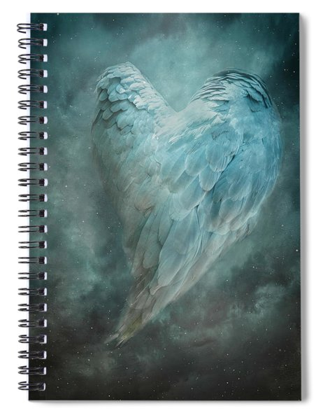 Hope Is The Thing With Feathers Spiral Notebook