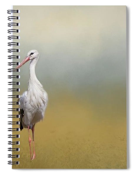 Hope Of Spring Spiral Notebook