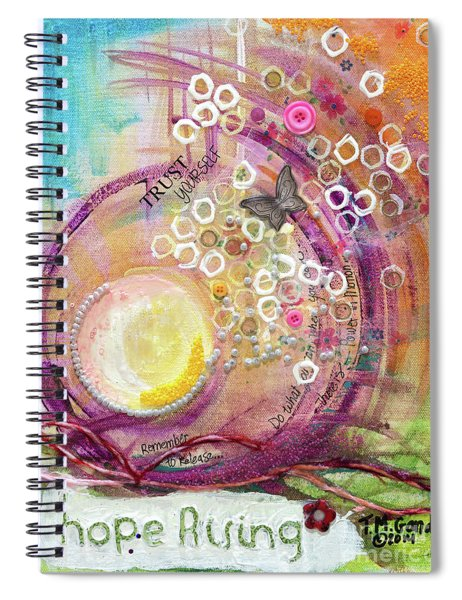 Hope Rising Spiral Notebook