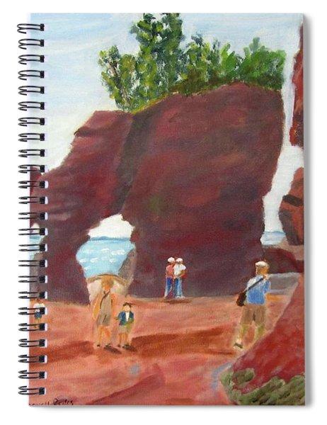 Hopewell Rocks2 Spiral Notebook