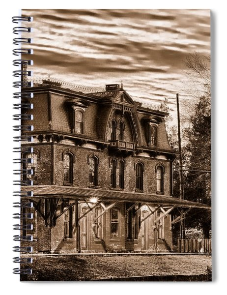 Hopewell Station Spiral Notebook