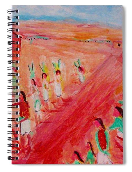 Hopi Indian Ritual Spiral Notebook