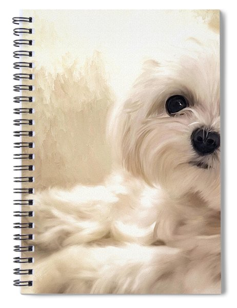 Hoping For A Cookie Spiral Notebook