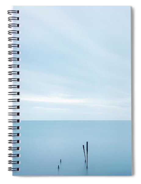 Spiral Notebook featuring the photograph Horizon by Mirko Chessari