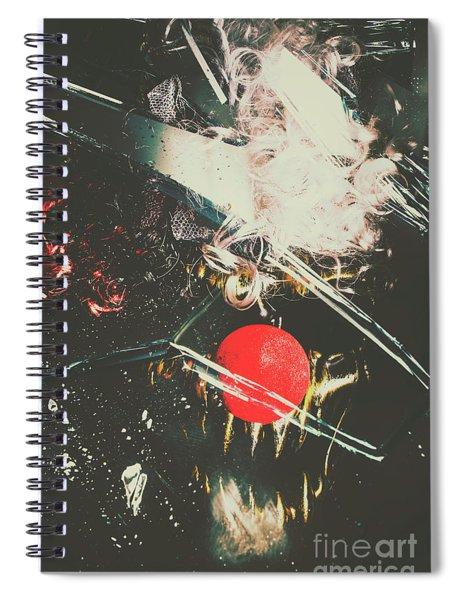 Horror House Of Mirror Spiral Notebook