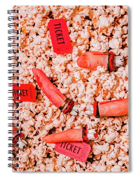 Horror Show Spiral Notebook