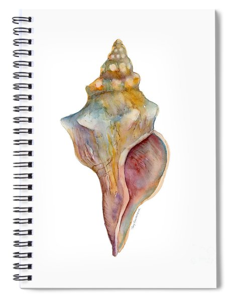 Horse Conch Shell Spiral Notebook