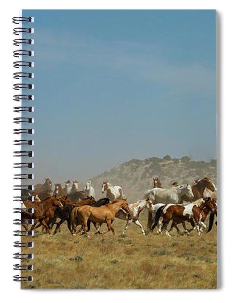 Horse Drive Spiral Notebook