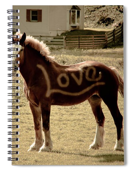 Horse Love Spiral Notebook