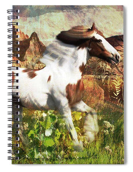 Horse Medicine 2015 Spiral Notebook