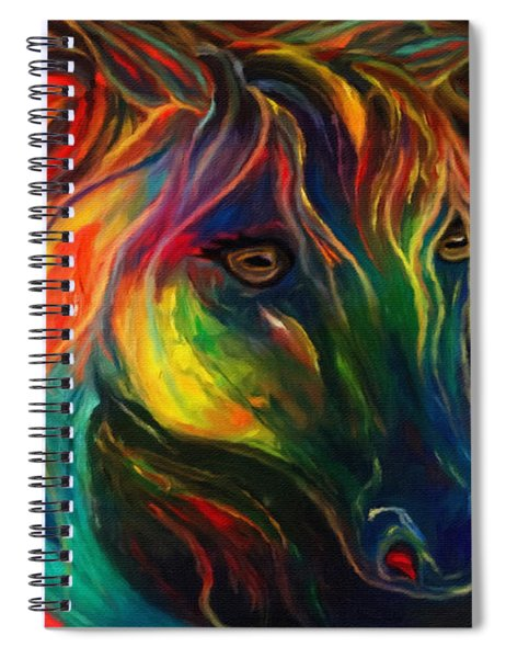 Horse Of Hope Spiral Notebook