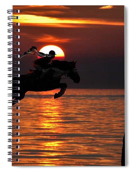 Horse Racing Spiral Notebook