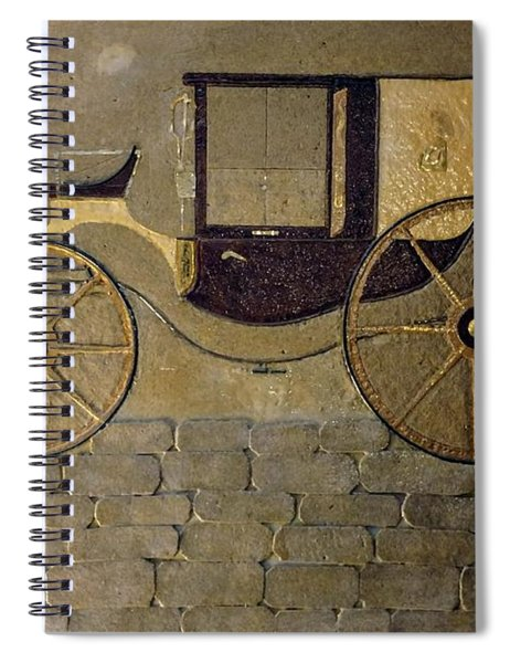 Horseless Carriage Spiral Notebook