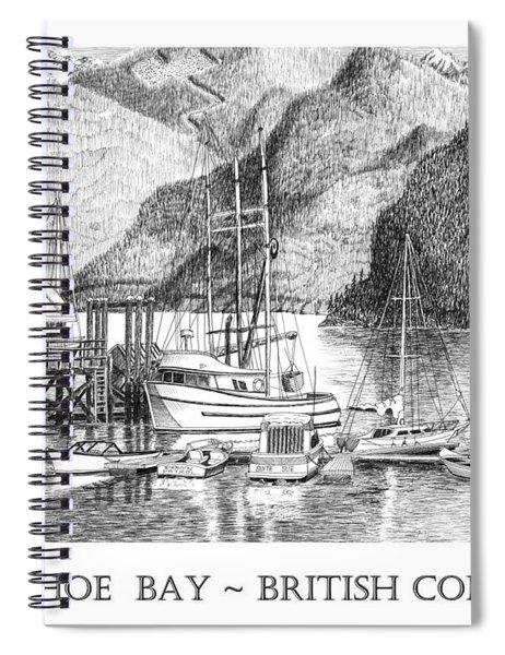 Horseshoe Bay British Columbia Spiral Notebook