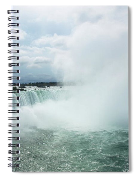 Horseshoe Falls Spiral Notebook