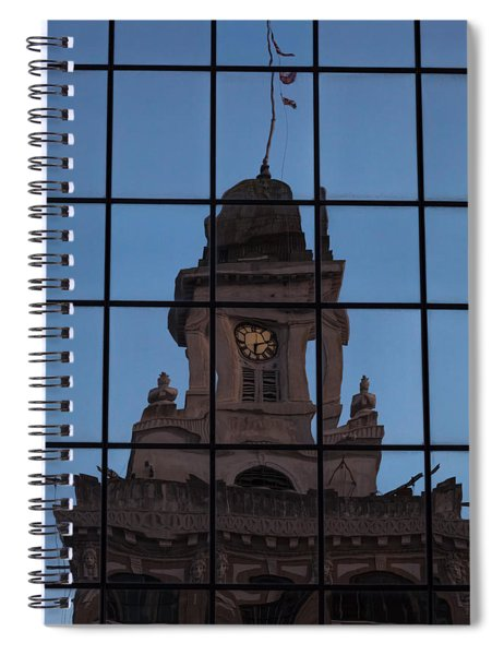 Spiral Notebook featuring the photograph Hortense The Beautiful by Ed Gleichman