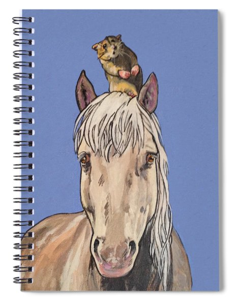 Hortense The Horse Spiral Notebook