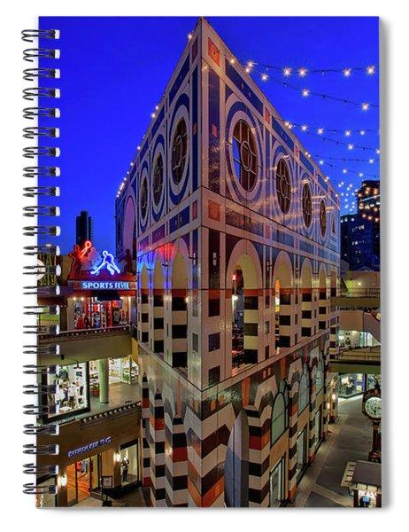 Horton Plaza Shopping Center Spiral Notebook