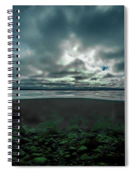 Hostsaga - Autumn Tale Spiral Notebook