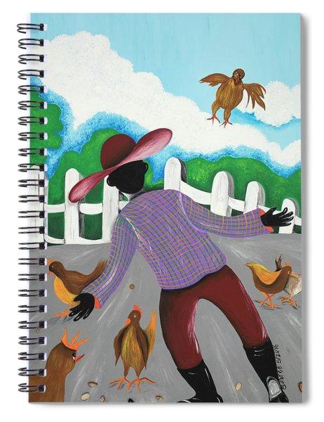Hot Chicks Spiral Notebook