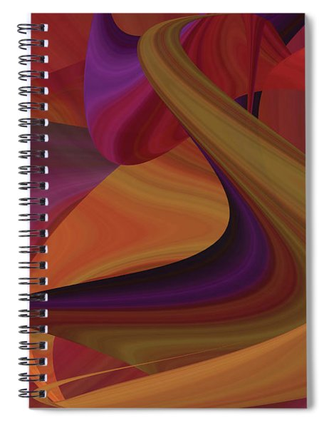 Hot Curvelicious Spiral Notebook